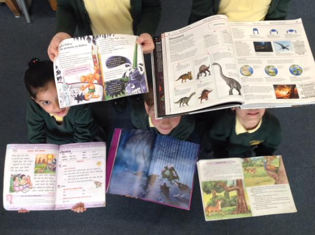 Year 2 sharing some favourite books