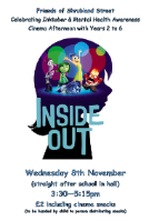 PTA film night - Inside Out